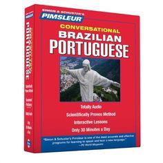 Pimsleur Portuguese (Brazilian) Conversational Course - L... https://www.amazon.com/gp/product/1442367903/ref=as_li_qf_sp_asin_il_tl?ie=UTF8&tag=pinterest0e08-20&camp=1789&creative=9325&linkCode=as2&creativeASIN=1442367903&linkId=f818ca13eed2ada4b0b931ad4542557a