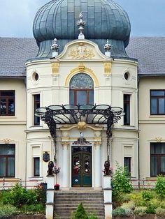Schloss Blücherhof in Klocksin, Landkreis Müritz, Mecklenburg-Vorpommern.
