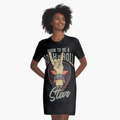 'One Shot One Kill' Graphic T-Shirt Dress by Manstrations I Dress, Shirt Dress, Chiffon Tops, Retro Vintage, Cool Designs, Girly, Clothes For Women, Lady, Casual