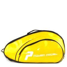 Paletero de padel Power Padel gran capacidad color amarillo negro, transporta todo lo que necesitas para jugar al padel, bolsillo exterior con cremallera, zapatero con cremallera, puedes llevarlo al hombro, como mochila o en la mano.  http://www.winpadel.com/complementos-de-padel/paletero-de-padel-power-padel-amarillo