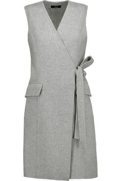 Shop on-sale Theory Livwilth wrap-effect wool and cashmere-blend dress. Browse other discount designer Dresses & more on The Most Fashionable Fashion Outlet, THE OUTNET. Top Fashion, Fashion Sewing, Hijab Fashion, Fashion Dresses, Workwear Dresses, Tailored Dresses, India Fashion, Womens Fashion, Designer Work Dresses