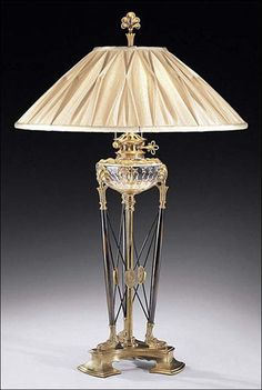 Constantine Crystal Lamp. fine lighting. cut crystal, solid brass with antiqued bronze accents. DesignNashville.com