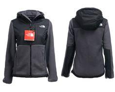 Women's The NorthFace Denali Fleece Hoodie Grey Jackets L, 53% off!