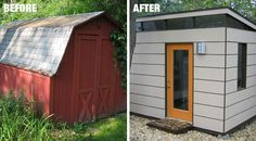 Modern shed