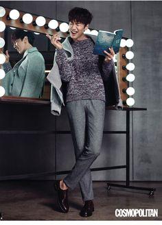 Lee Kwang Soo, Lee Chun Hee & Park Bo Young: Cosmopolitan November, 2015 [Part 2]