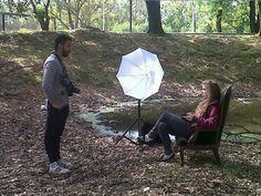 Back Produccion  Asistente de Produccion: Florencia Popowicz  PH: Camilo Diaz    Foto sacada desde un celular
