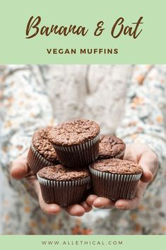 Vegan Recipe - Banana and Oat Muffins   All Ethical