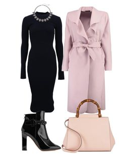 """""""Untitled #21"""" by semysemy ❤ liked on Polyvore featuring Victoria Beckham, Boohoo, Valentino, Gucci and Simply Vera"""