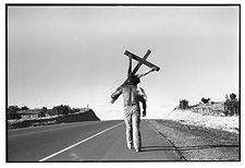 Kevin Bubriski - Holy Thursday Pilgrimage to Chimayō, Nambe Road, NM