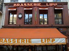 Saint Germain des Pres, Brasserie Lipp