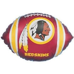 "Washington Redskins 18"" Foil Balloon"