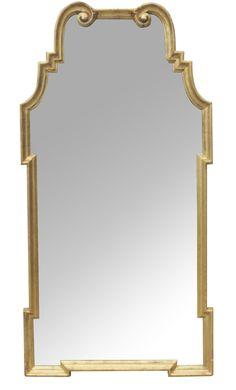 1ab47183f336      La Barge Pagoda Gilt Mirror
