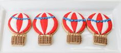 Cookies from a Hot Air Balloon Birthday Party via Kara's Party Ideas | KarasPartyIdeas.com (9)