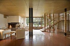 Iconic House: Villa Mairea in Noormarkku, Finland by Aino and Alvar Aalto Alvar Aalto, Scandinavian Modern, Interior Inspiration, Finland, Mid-century Modern, Modern Houses, Building A House, Furniture Design, Villa