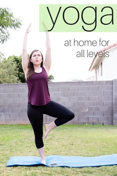 The Gift of Fitness: Yoga at Home for All Levels - Friday We're in Love