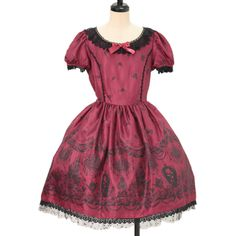 ♡ ALICE and the PIRATES ♡ Beauty and the Rose Promise pattern dress http://www.wunderwelt.jp/products/detail10039.html ☆ ·.. · ° ☆ How to buy ☆ ·.. · ° ☆ http://www.wunderwelt.jp/user_data/shoppingguide-eng ☆ ·.. · ☆ Japanese Vintage Lolita clothing shop Wunderwelt ☆ ·.. · ☆