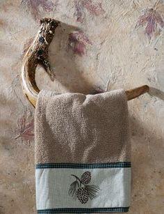 Cabela's: Faux-Antler Hand-Towel Hook