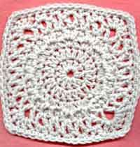 7 inch Circle of Hope Square