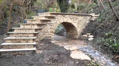 Dry Stone Bridge Cool Doors How To Build Walls