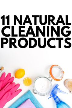 Natural living meets budget-friendly cleaning hacks with this collection of 11 homemade household products that cut through grease and make your home shine! Household Cleaning Tips, Cleaning Hacks, Household Products, Diy Cleaners, Cleaners Homemade, Homemade Glass Cleaner, Natural Disinfectant, Baking Soda Uses, Natural Cleaners