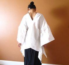 SWALLOW pure linen top