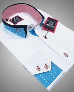 Luxury shirts for men - Miami white 2