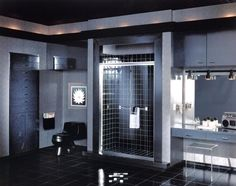"Sometimes referred to as the ""illusion"" bath, the Series Frameless Bath Enclosure for tub or shower hangs tough without the need of a frame The result is a dramatic sweep of glass ideally suited for the modern bath decor. Custom Shower Doors, Glass Shower Doors, Tub Enclosures, Shower Enclosure, Clear Glass, Frameless Sliding Shower Doors, Pivot Doors, Modern Baths"