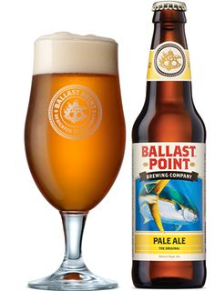 Ballast Point - Pale Ale The Original. Tasty brew with a nice sweetness to it. Good crisp finish. Very easy drinking. Thumbs up.  #Beer
