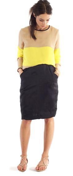 Loving this dress from US designer Heidi Merrick - is she stocked anywhere in the UK?