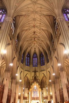 Saint Patrick's Cathedral in New York City #ChurchHopping http://burnsidewriters.com/2011/08/03/church-hopping-live-st-patrick%E2%80%99s-cathedral/