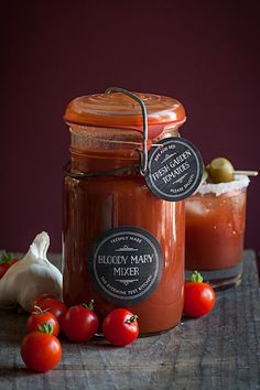 Homemade Bloody Mary Mixer from Garden-Fresh Tomatoes | The Evermine Blog | www.evermine.com