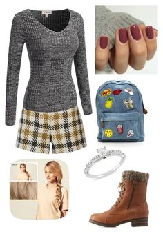 """Untitled #426"" by rikey-byrnes on Polyvore featuring Alice + Olivia, Hershesons, Ice and Charlotte Russe"