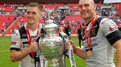 Challenge Cup final: Hull FC 12-10 Warrington Wolves - BBC Sport. Ah well, thought we had it won but never mind, eh?! Great game but so hard to watch!
