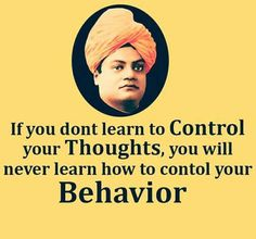 Actions will follow Thoughts