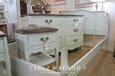 Take outdated furniture from garage sale etc. and give it a fresh new look. Easy project using Chalk Paint (& stain if you want)