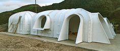 "WE ARE A NEW CONCEPT OF LIFE Green Magic Homes. Pre-fab ""hobbit"" home shells."