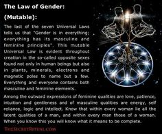 The Law of Gender