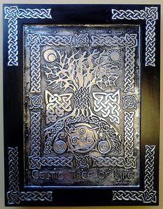 Celtic Árbol de la vida | por Cacaio Tavares - Arte Relevo em Metal - Brasil