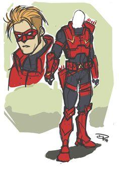 Red Hood / Arsenal (DC Comics) on Behance Dc Comics Heroes, Fun Comics, Marvel Dc Comics, Superhero Characters, Dc Comics Characters, Game Character Design, Comic Character, Arsenal Dc, Mode Cyberpunk