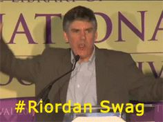 Ladies and Gentlemen, this is who wrote two best selling series, and gave a reason for your life. This man. <<<<<< three cheers for Rick Riordan