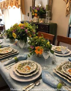 Spring Table with Ma Maison, Dario Farrucci, Tabletop Unlimited