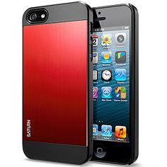 Spigen SGP #Saturn Case for #iPhone 5 - #Metal Red $24.99 From #DayDeal