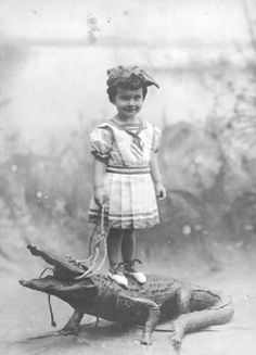 This is where the real swamp people came from