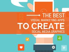 Are you using graphics in your social media posts? Here's 7 of the best visual marketing apps to create cool social media graphics that POP! App Marketing, Marketing Tools, Content Marketing, Social Media Marketing, Digital Marketing, Marketing Branding, Social Media Images, Social Media Graphics, Social Media Tips