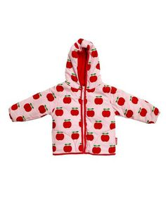 Pink Apple Jacket - Infant, Toddler & Girls  by Toby Tiger £24.99