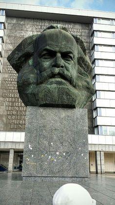 Chemnitz, Karl Marx Büste