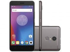 """Smartphone Lenovo Vibe K6 32GB Grafite Dual Chip - 4G Câm. 13MP + Selfie 8MP Tela 5"""" Proc. Octa Core com as melhores condições você encontra no site do Magazine Luiza. Confira!"""