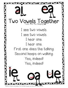 Teach long vowels using this catchy song; freebie...I taught pre-k in my home for over 10 years and this is how I taught everyone to read before they went to Kindergarten!  amazing tools!