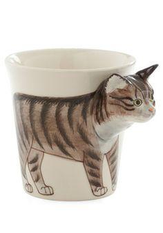 Tabby Hour Mug, #ModCloth Totally want this!