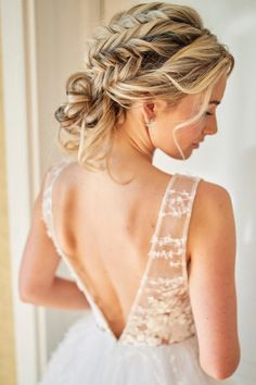 Wonderful Braided hairstyles for Brides to Mesmerize Anyone   Hairstyles Charm Long Braided Hairstyles, Open Hairstyles, Bride Hairstyles, Pretty Hairstyles, Straight Hairstyles, Medium Hair Styles, Long Hair Styles, Bridal Braids, Hair Strand